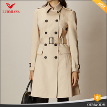ladies coat 2017 womens long trench coat high quality new product fashion trench coat long