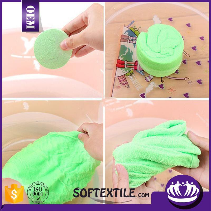 Compressed Mini Magic tissue coin towel