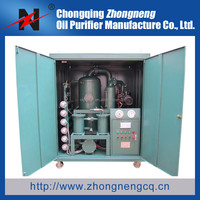 ZHONGNENG Double-stage Vacuum Transformer Oil Purifier, oil filtration machine, Oil Purification Plant