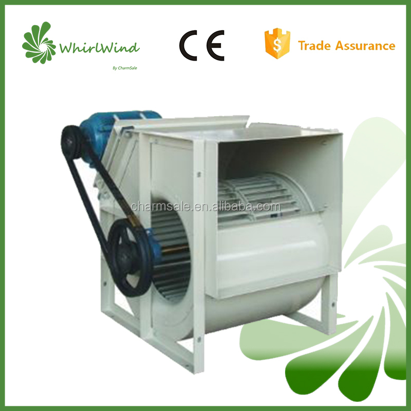 AntiCorrision SBZ SERIES Belt Drive High Speed Double Inlet Forward curved industriy centrifugal ventilation fan