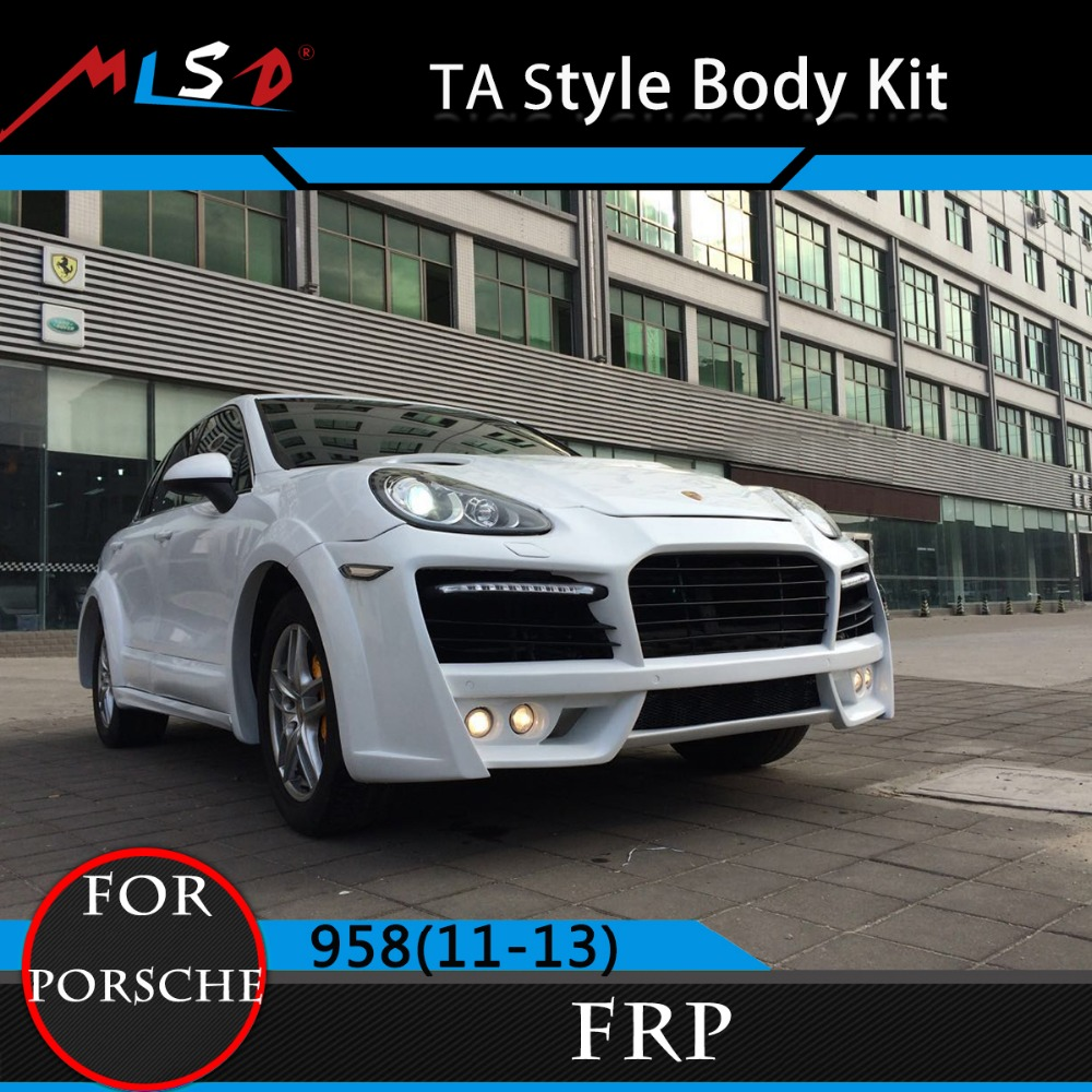 Perfect Fitment High Quality TA Style Body Kits for Porsche Cayenne 958 11-13