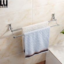 wholesale zinc alloy unique chrome finished bathroom accessories towel bar