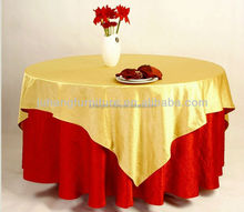 Table cover manufacturer wholesale round and rectangle 100 % Polyester Wedding Table Cloth Table Cover