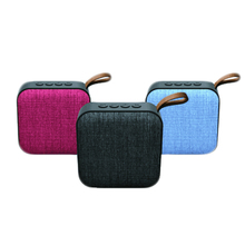 New Arrival Fabric Portable <strong>Bluetooth</strong> <strong>Speaker</strong> OEM