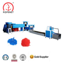 Rope production line recycle plastic granulator machine