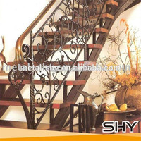 Outdoor Cast Iron Hand Railing For Stair