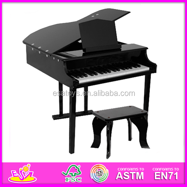 2015 new wooden piano,popular kids wooden toy piano and hot selling piano W07C019-x