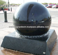 rolling ball water stone fountain