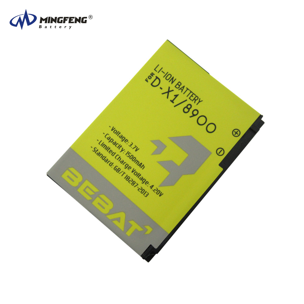 Original 3.7V 1500mAh Rechargeable Li-ion Battery D-X1 for Blackberry 8900/8910/9500 Cellphone