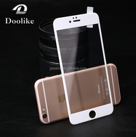 Mobile phone accessories 3D 9H tempered glass screen protector for iPhone 6 /6s