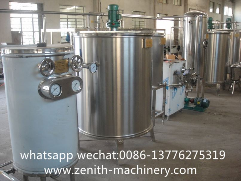 Full Automatic Juice Filling Processing And Packing Machine