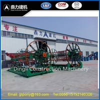Wire cage welding machine for drainage pipe