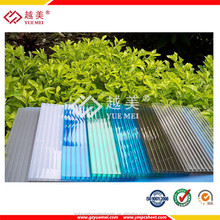 plastic sheet roofing honeycomb polycarbonate panels