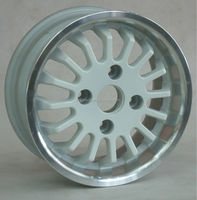 small size alloy car rim