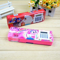 plastic pencil box/pencil case/ pen box hot sale in 2016