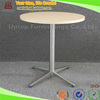 (SP-RT372) Uptop Modern laminate wood top round cafe table