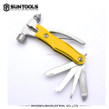 Hot-sale useful hand tools cars emergency tools with functional hammer
