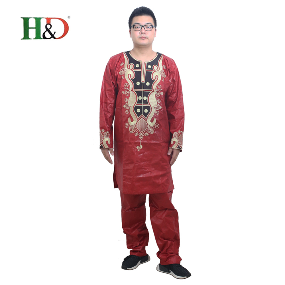 7ae25872bd0fa 2018 African clothing a man Dashiki Africa  strong bazin  strong  cotton