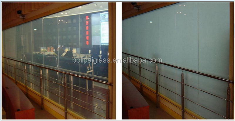 Switchable Privacy Glass / Transparent Conductive Film Glass