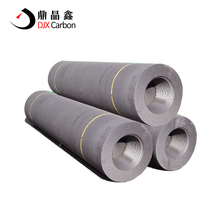 Steel Casting UHP Extruded Carbon Graphite Electrode with Nipples