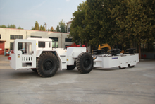 WC35E Mining Hydraulic-support Truck