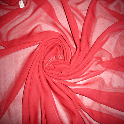 dyed or printed beautiful voile/chiffon fabric