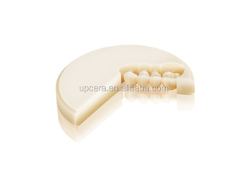 FDA Zirconium Oxide Ceramic Super Translucent Multi - Layer Zirconia In Dentistry