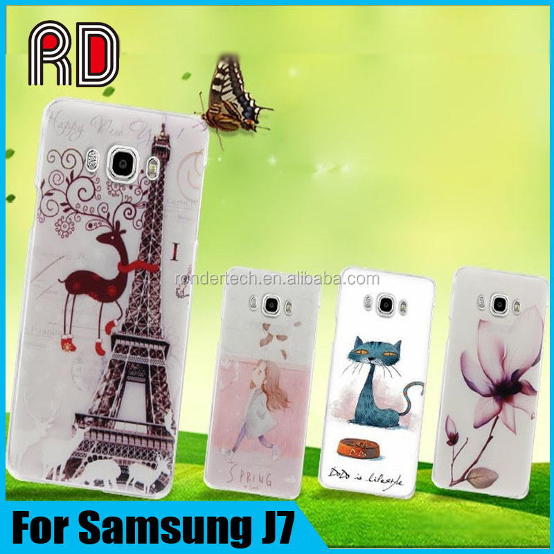 Most Favorable Price TPU Printed Customize Mobile Phone Cover Case For Samsung J7