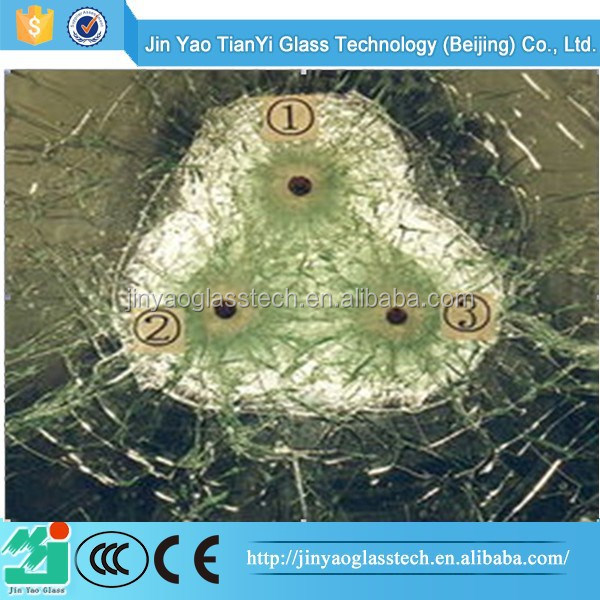 Free sample offered bullet resistant glass