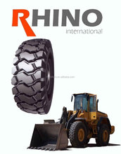 RHINO KING tube type 12-16.5 otr tyre X89 with GCC CCC ISO ECE REACH Certificate