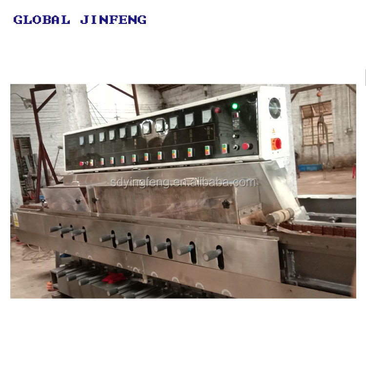 JFE Vertical glass mosaic grinding polishing machine with CE made  in China