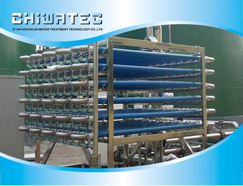 high concentration waste water filtration with tubular UF membrane