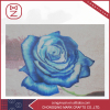 Blue Rose Wall Hanging Hand Embroidery Flowers Pictures for Home Decor