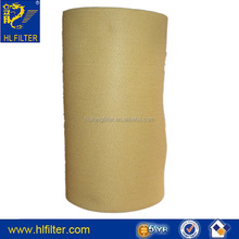 synthetic filter fabric