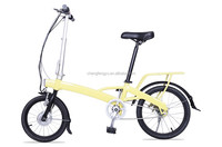 2015 New products 24V/250W 18inch folding fat electric bike with 8FUN motor