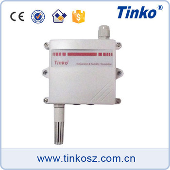 Alibaba China manufacturer TINKO Modbus RS485 temperature sensor transmitter 0-10V