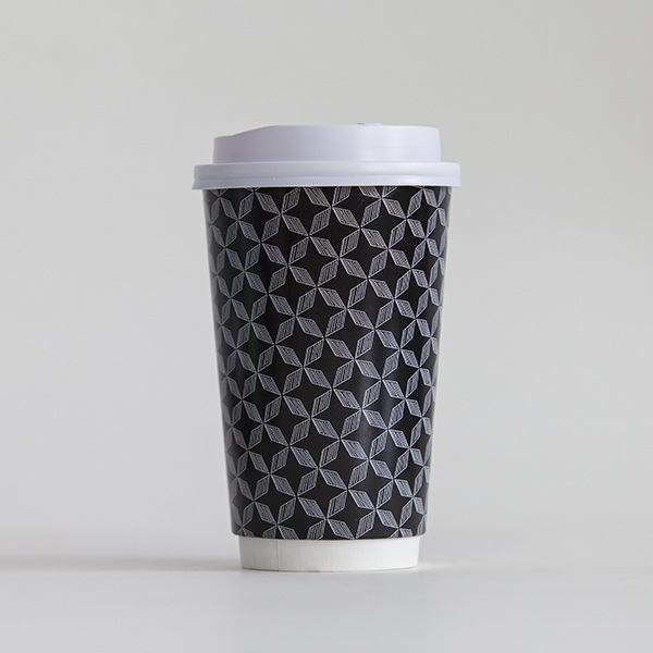 custom LOGO printed coffee paper cup take away cup with lids 10/ 12/ 16oz