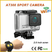 AT300 12mp camera remote digital video action camera camcorder with remote comtrol camera 1080p