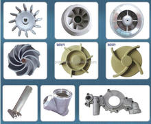 high quality cast iron pump impeller, cast steel pump impeller