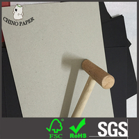 1.5mm glossy surface grey paperboard paper mill for file folder