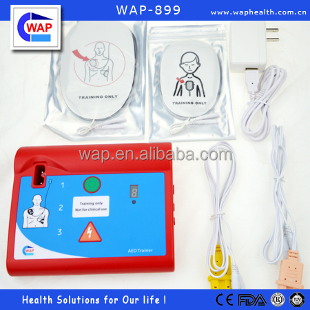 WAP's automatic AED trainer