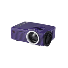 2017 SD20 Portable LED Projector with battery powered AV USB TF mini projector 16:9/4:3 for kids early childhood projector