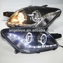 LED Angel Eyes Head Lamp for TOYOTA VIOS 2008-2012 year