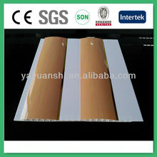 waterproof bathroom pvc ceiling panel, pvc wall panel decoration