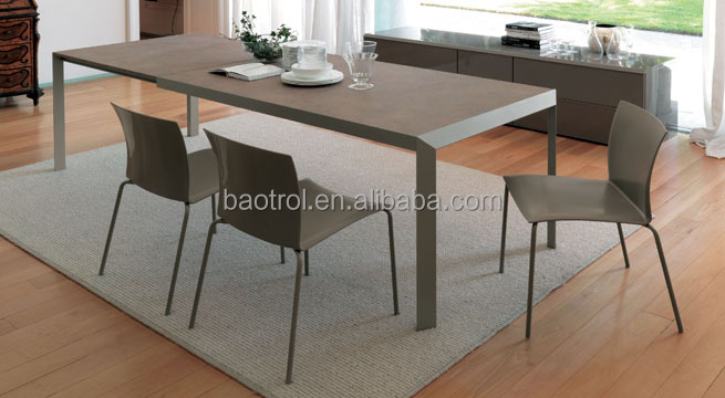Korean Popular Dining Table Material Durable Faux Stone Dinner