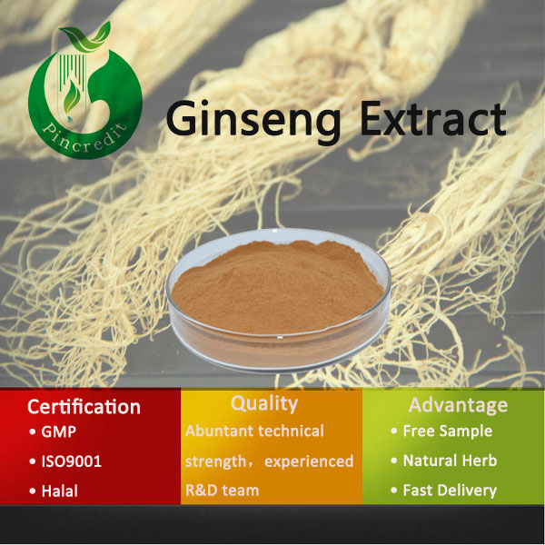 Natural Herb 80%Ginsenoside Korean Ginseng Extract Capsule