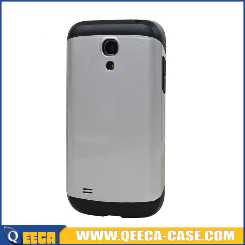 2 in 1 hybrid hard shockproof armor case for galaxy s4 mini