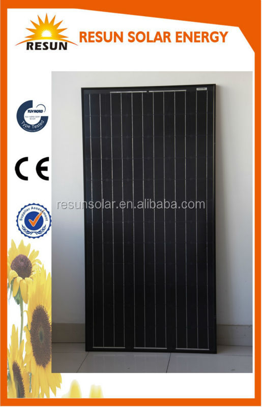 High efficiency 310poly industrial solar panel price with ce tuv certificate