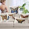 European Classical Style Hand Painting Simple Image Butterfly Dragonfly Animal Whosale Cushion/Pillow Covers
