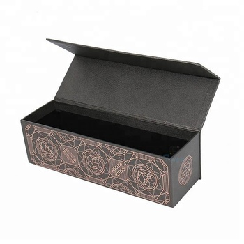 cardboard decorative wine bottle gift boxes